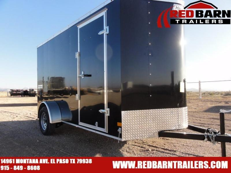 6 X 12 2020 Haulmark PP612S2-D Enclosed Cargo Trailer