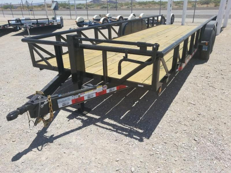 2018 7x22 GR Heavy Duty Utility Trailer @ Red Barn Trailers
