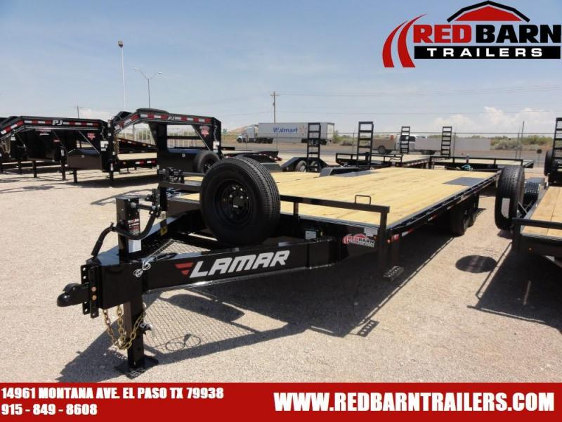 102 X 24 2020 Lamar Trailers F8022427 Equipment Trailer @RED BARN TRAILERS