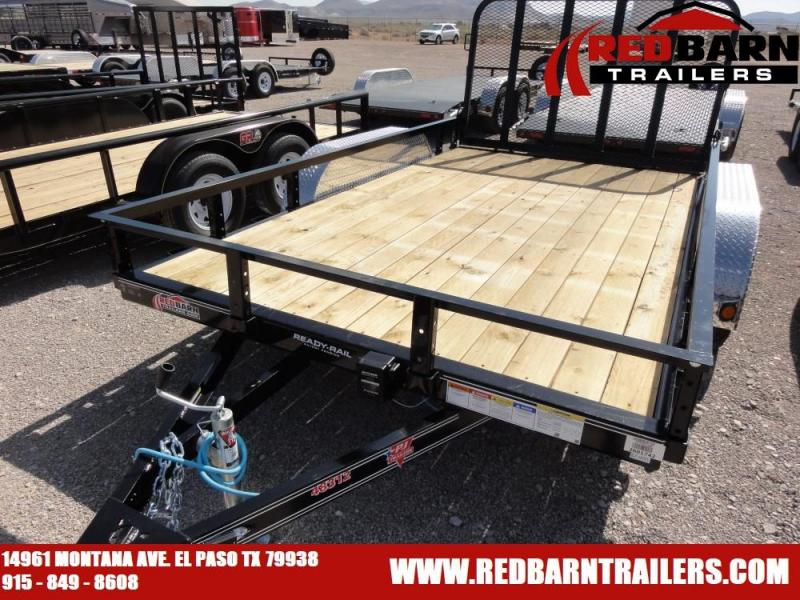 7 x 12 2020 PJ Trailers UL122 Utility Trailer @RED BARN TRAILERS
