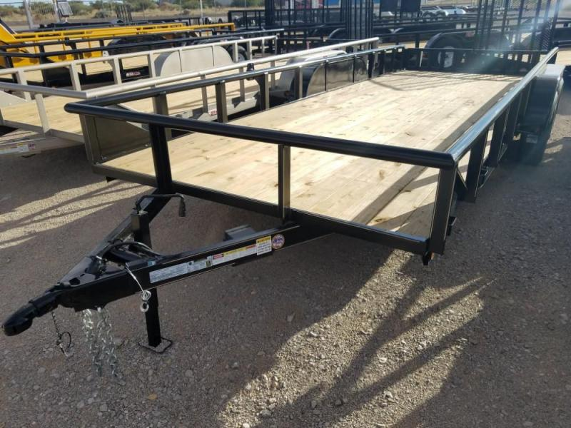 7 x 20 GR Utility Trailer @ Red Barn Trailers