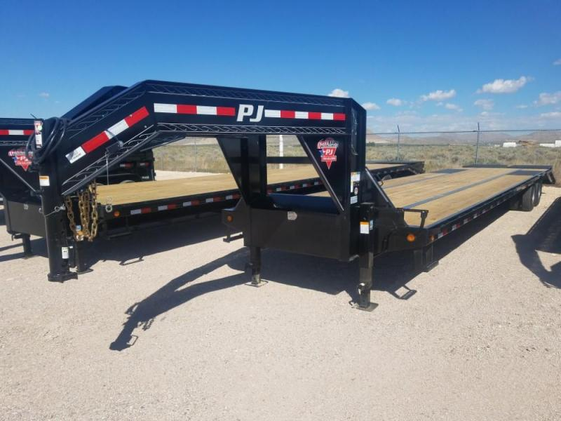 40FT. PJ Low-Pro Flatdeck with Duals (LD) @ Red Barn Trailers