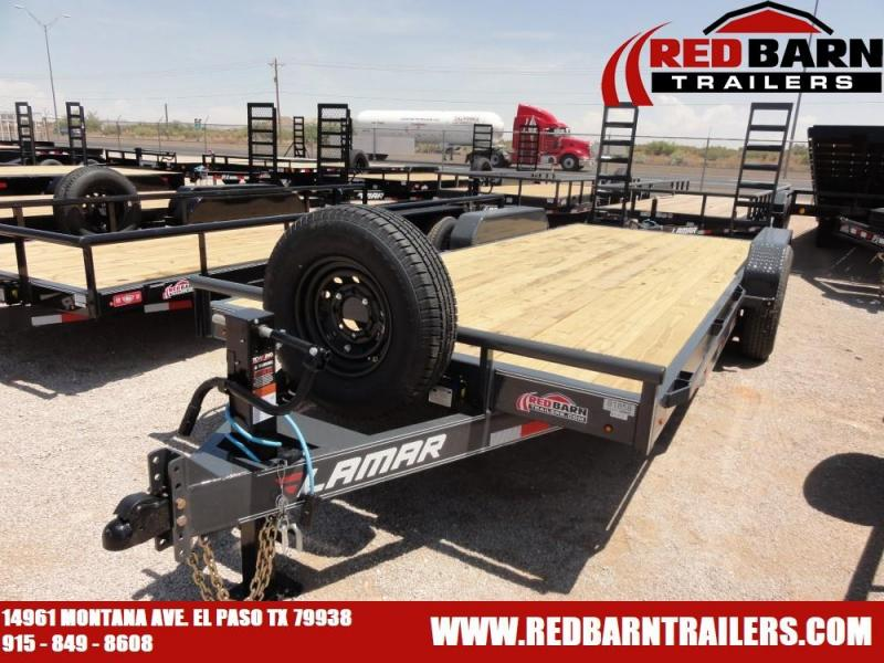 7 X 20 2019 Lamar Trailers H6832027 Equipment Trailer @RED BARN TRAILERS