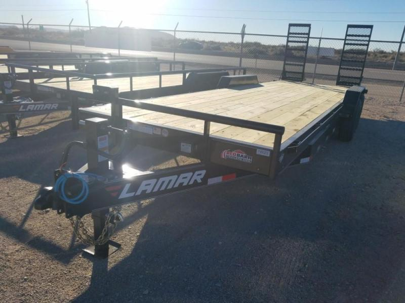 2019 Lamar Trailers 83 X 24 Heavy Duty Equipment Hauler (H8) @RedBarnTrailers