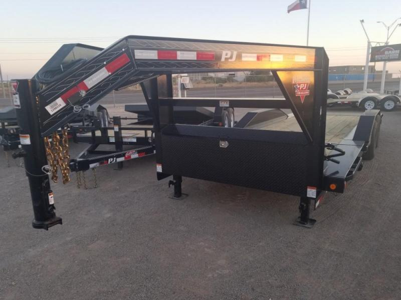 22' Tilt Trailer GooseNeck @ Red Barn Trailers