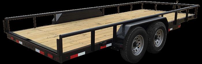 """83"""" X 20 Heavy Duty Utility Trailer (U5) @ Red Barn Trailers"""