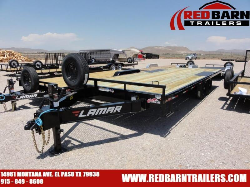 102 x 22 2020 Lamar Trailers F8022427 Equipment Trailer