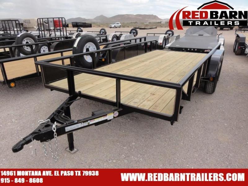 7 X 16 2019 GR Trailers UT7022WR07L Utility Trailer @RED BARN TRAILERS