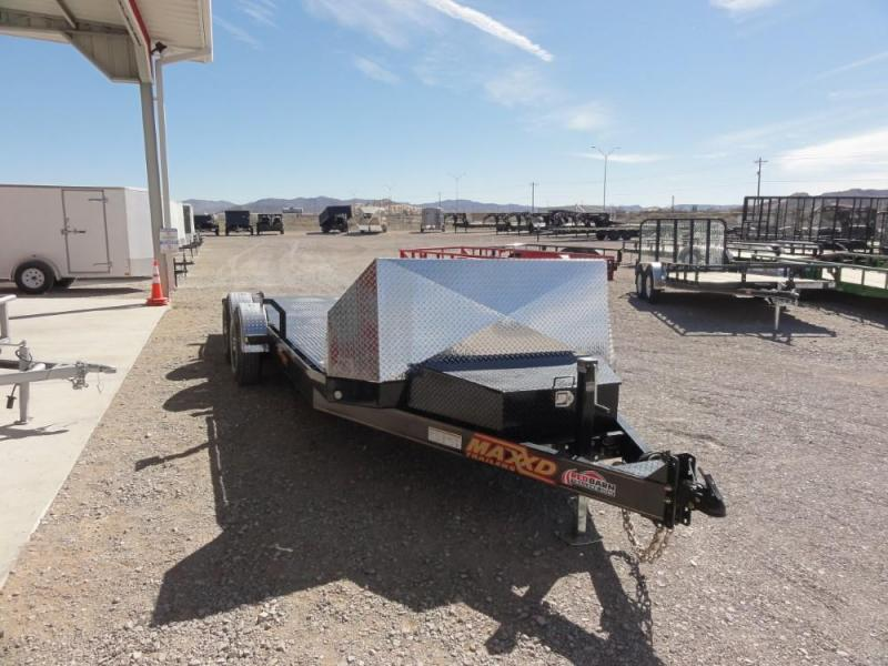 80 x 20 2019 MAXXD A6X 10K DROP-N-LOAD CAR TRAILER Car / Racing Trailer @Red Barn Trailers