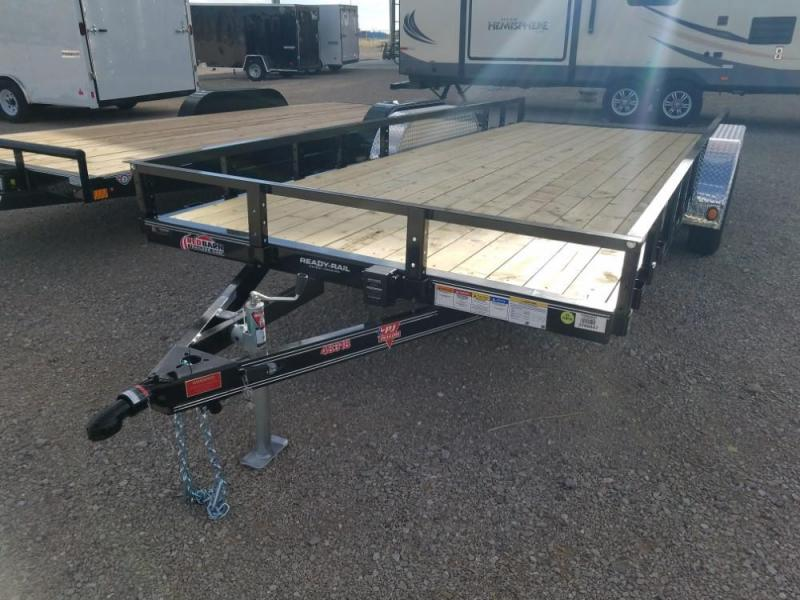 "83"" X 18 PJ Tandem Axle Channel Utility (UL) @ Red Barn Trailers"
