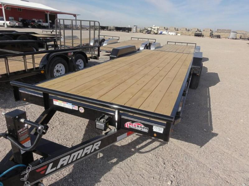 7 X 20 2019  Lamar Trailers Equipment Hauler (H6) 14K-16K Car / Racing Trailer @RED BARN TRAILERS