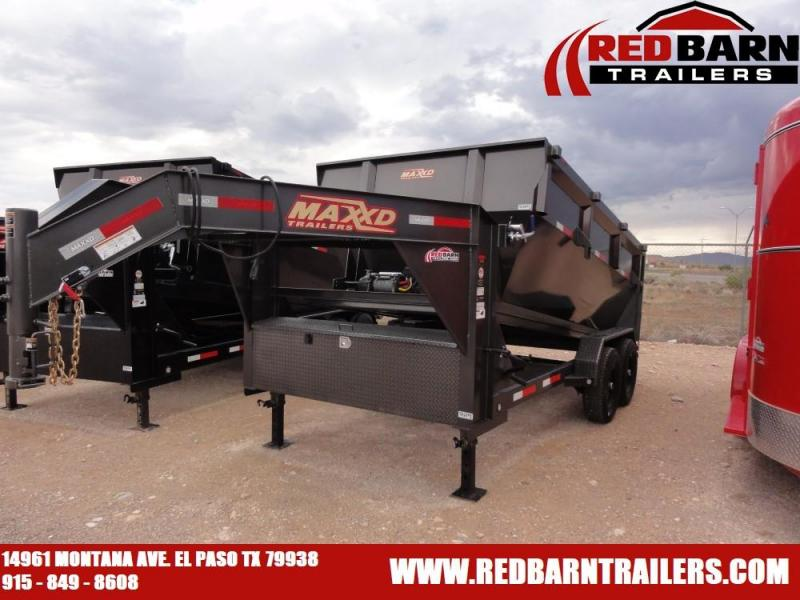 7 X 14 2020 MAXXD ROLL-OFF DUMP @RED BARN TRAILERS