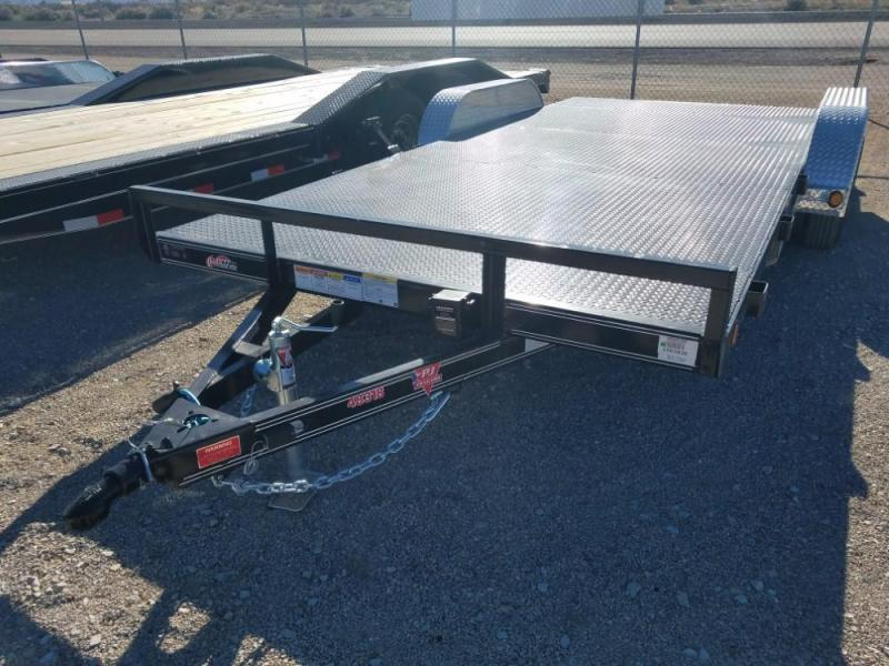 83 x 18' PJ  Steel Deck Carhauler @ Red Barn Trailers