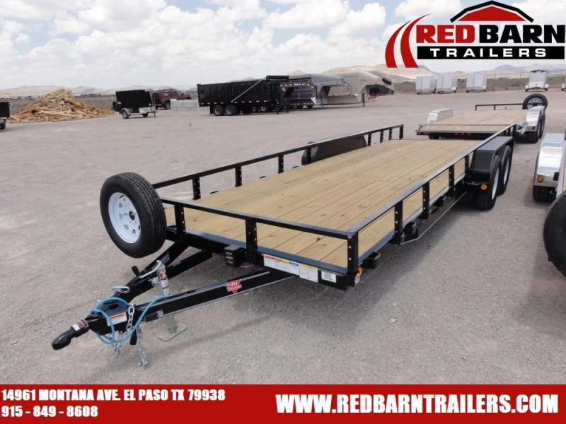 "83"" x 22 2020 PJ Trailers UL202 Car / Racing Trailer @RED BARN TRAILERS"