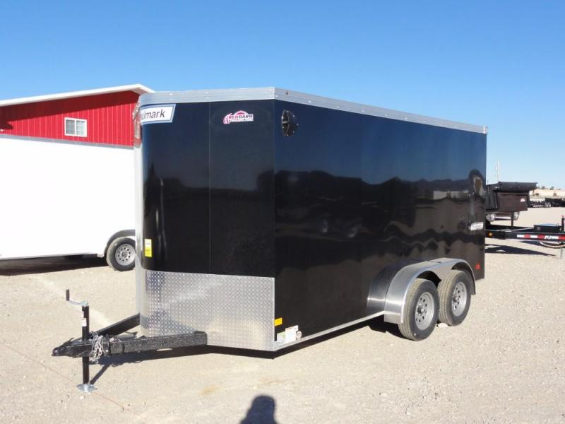 7x14 2019 Haulmark Transport V-Nose Enclosed Cargo Trailer @ Red Barn Trailers