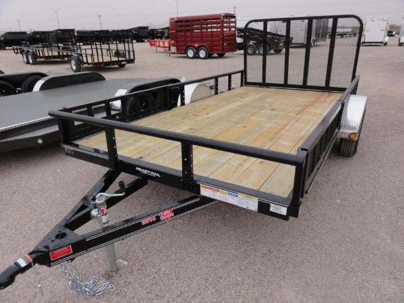 "83"" X 14' PJ Channel Utility (U8) @ Red Barn Trailers"