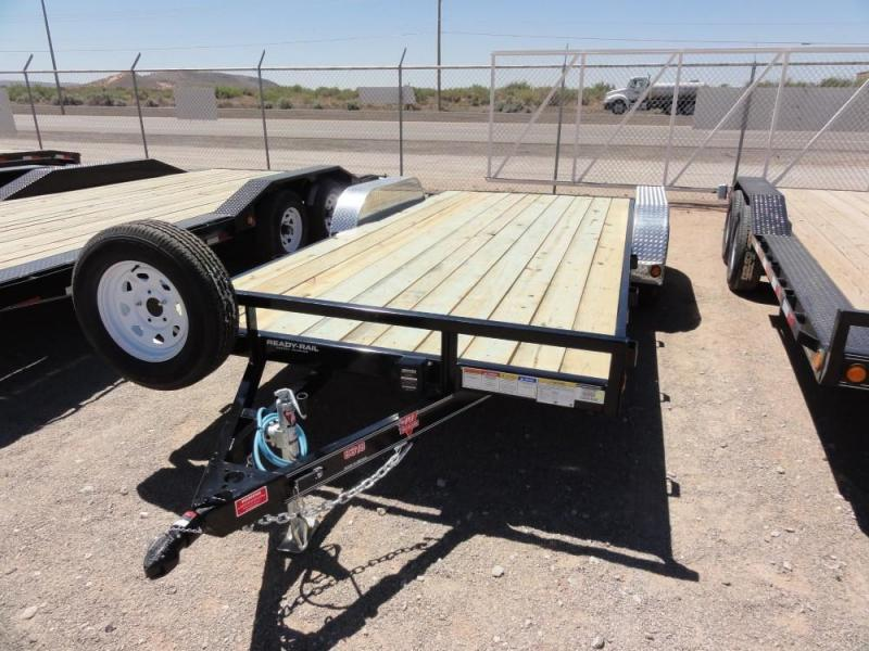 "83"" x 18 2020 PJ Trailers UL187 Car / Racing Trailer @RED BARN TRAILERS"