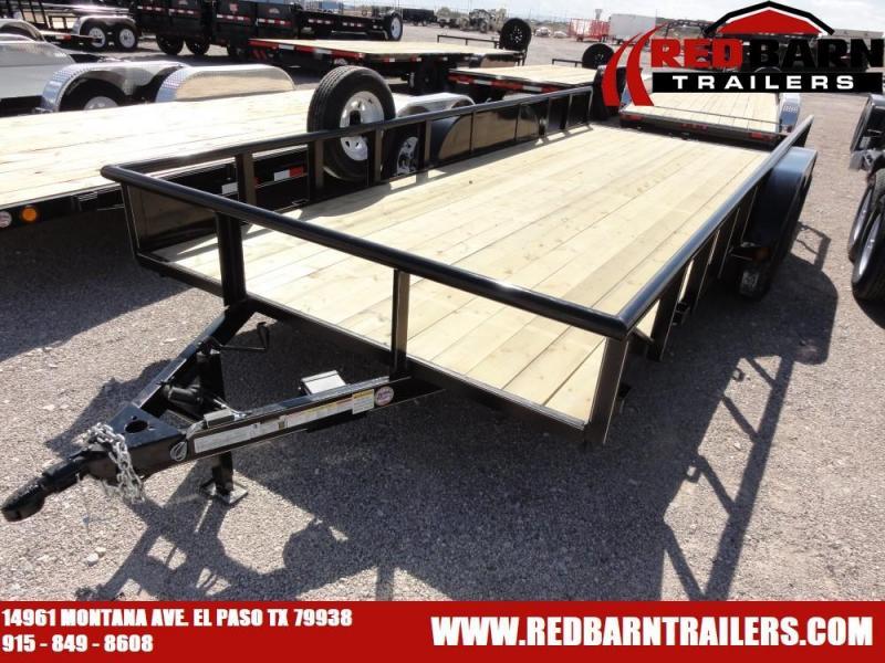 7 X 18   GR Trailers UT7022WR07L Utility Trailer @RED BARN TRAILERS