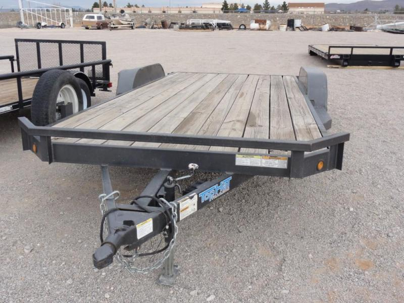 2014 Top Hat Trailers Tandem Axle Utility Trailer @ RED BARN TRAILERS