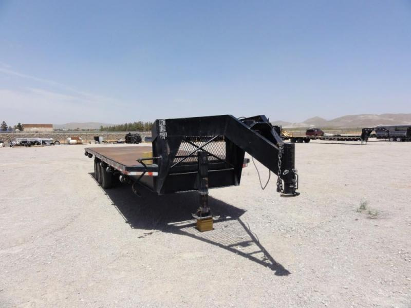 1971 Gooseneck STEELDECK Flatbed Trailer