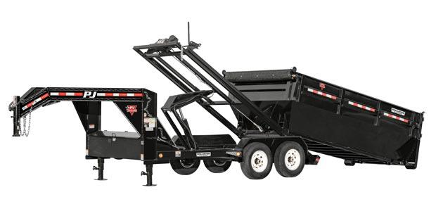 2019 PJ Trailers Rollster Roll Off Dump (DR) Dump Trailer