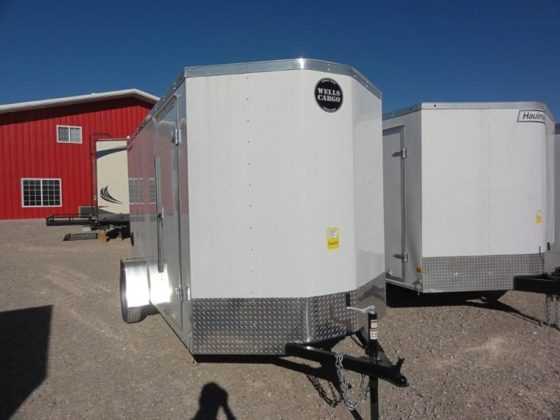 6 X 12 2019 Wells Cargo FastTrac Enclosed Cargo Trailer @RED BARN TRAILERS