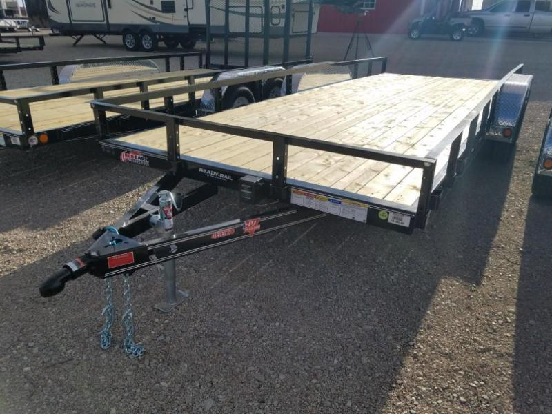 "83"" X 20 PJ Tandem Axle Channel Utility (UL) @ Red Barn Trailers"