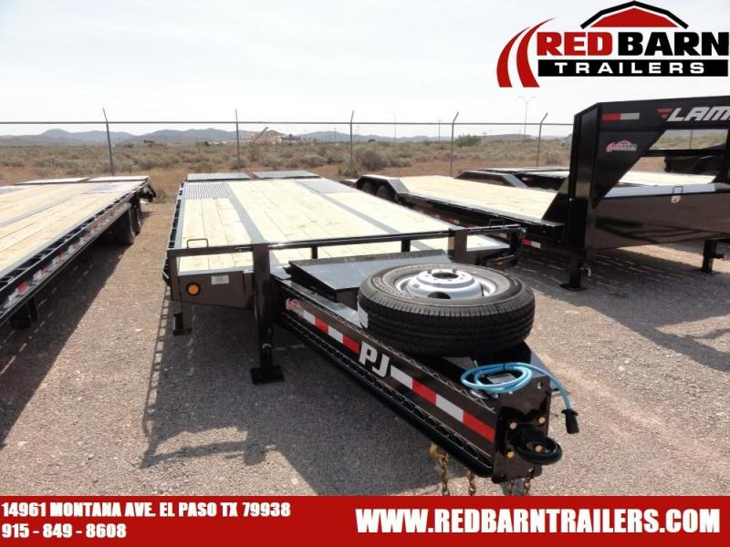 2020 PJ Trailers PL252 Equipment Trailer