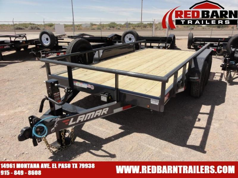 7 X 142019 Lamar Trailers U68314 Utility Trailer @RED BARN TRAILERS