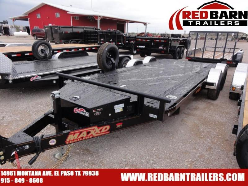 "80"" x 20 2020 MAXXD DROP-N-LOAD Car / Racing Trailer @RED BARN TRAILERS"