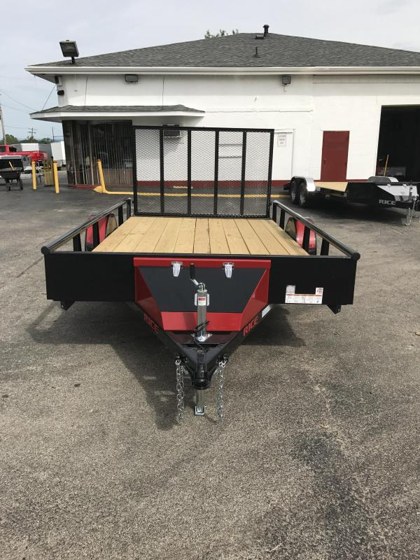 2017 Rice RSP8212 Utility Trailer