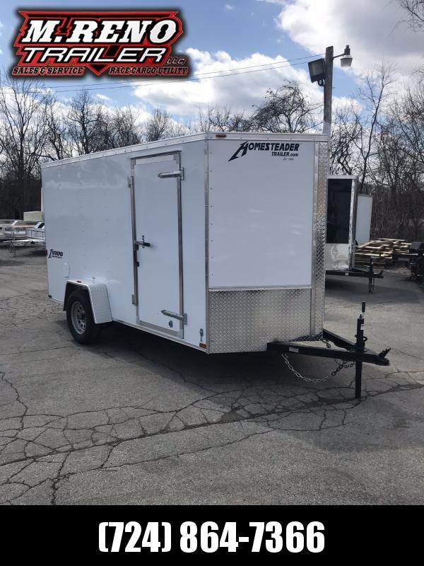 2019 Homesteader Inc. 612PS Enclosed Cargo Trailer