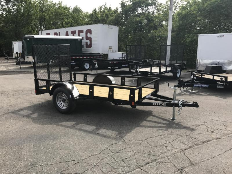 2018 Rice RS510 Utility Trailer