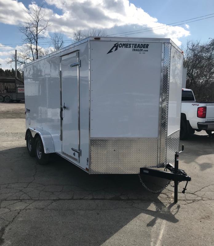 2018 Homesteader Inc. 714IT Enclosed Cargo Trailer