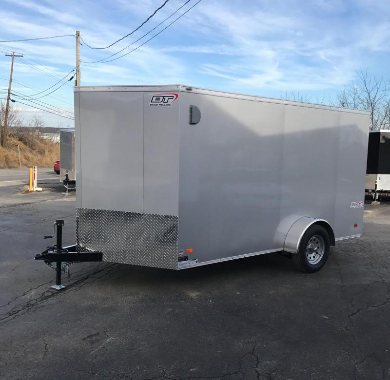 2017 Bravo Trailers SC712SA Enclosed Cargo Trailer