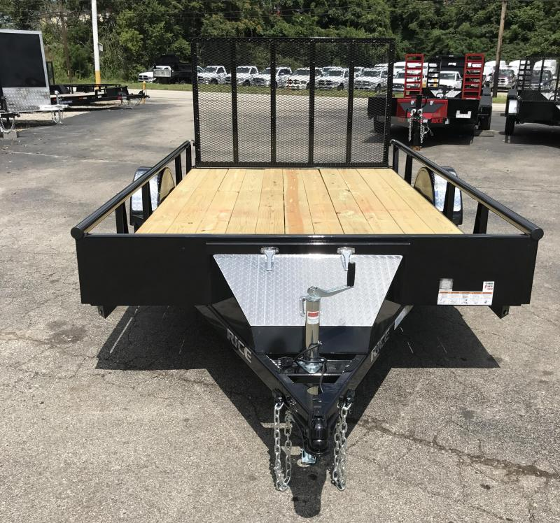 2018 Rice RSP8212 Utility Trailer