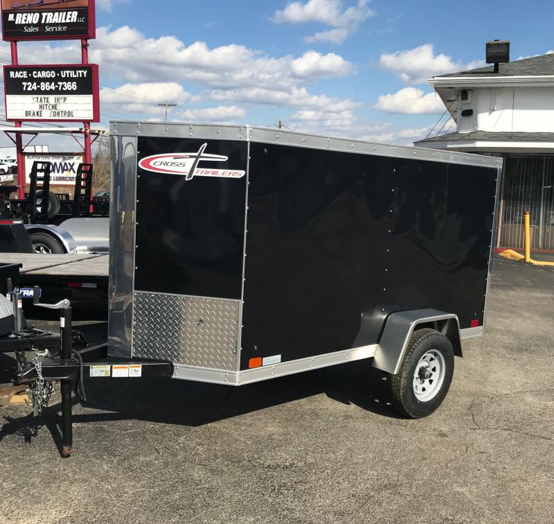 2016 Cross Trailers 4X8SA Enclosed Cargo Trailer