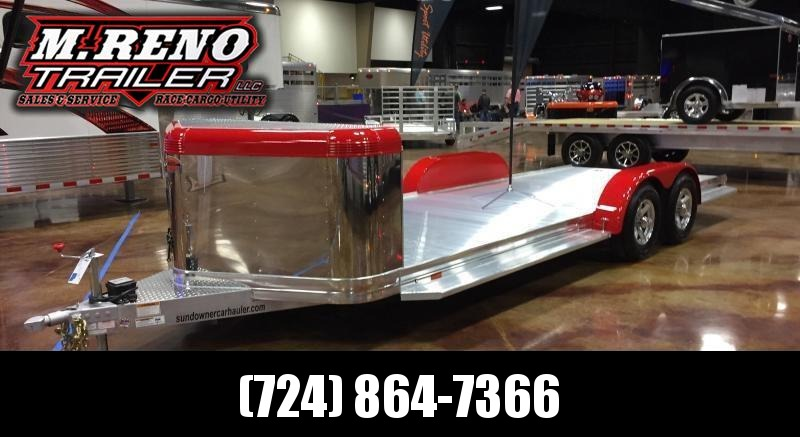 2019 Sundowner Trailers Ultra 22ft. Car / Racing Trailer