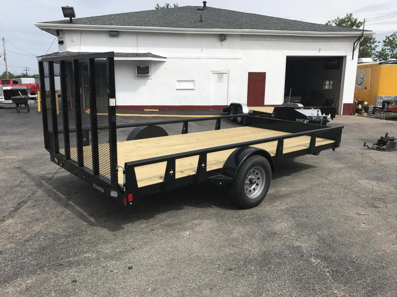 2017 Rice RSP8214 Utility Trailer