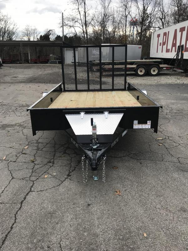 2018 Rice SST7610 Utility Trailer