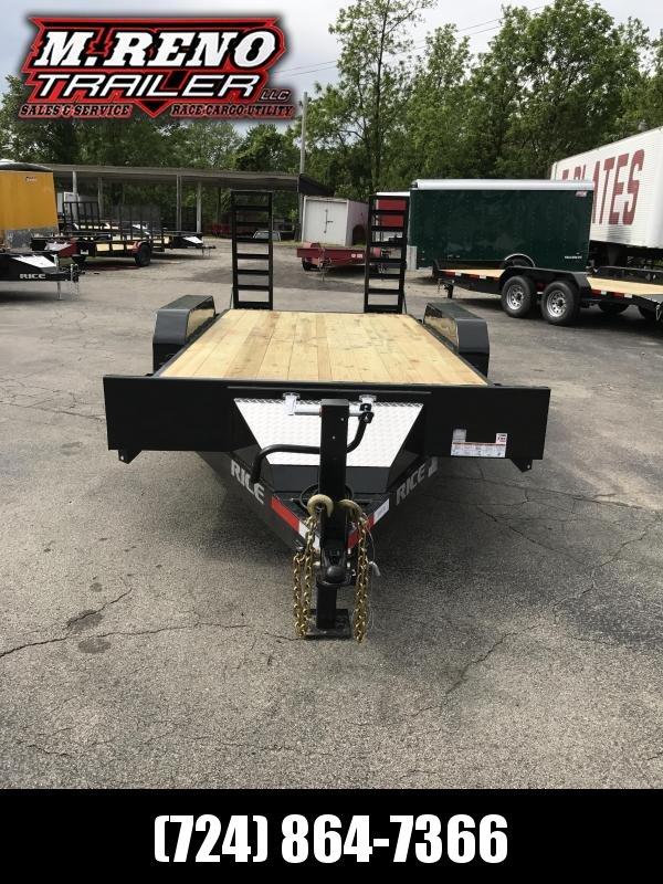 2017 Rice FMEHR8218 Equipment Trailer