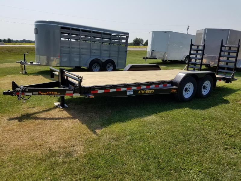 2018 Doolittle Trailer Mfg 82x20 Extreme 14k Equipment Trailer