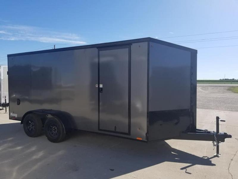2020 Cargo Express XLW SE 7x16 Blacked Out Enclosed Cargo Trailer