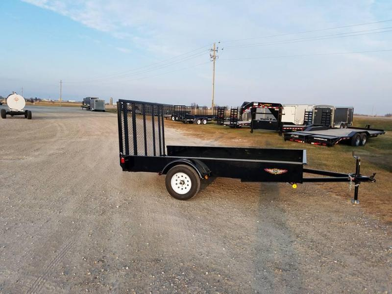 2018 H and H Trailer 77x10 C Series Utility Trailer