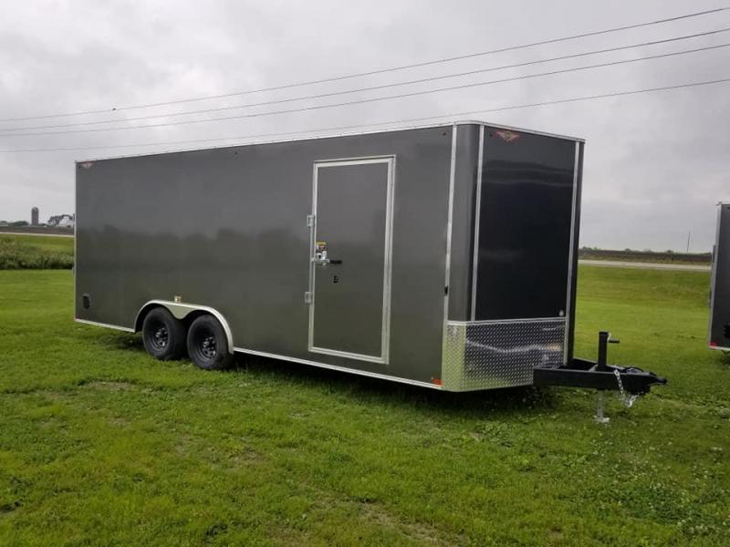 2019 H and H Trailer 8.5x20 10k Enclosed Cargo Trailer