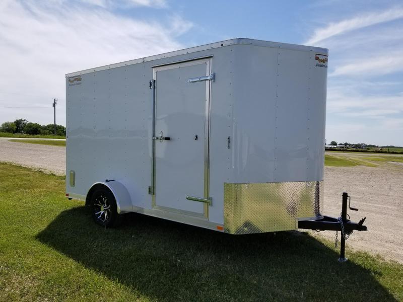 2018 Doolittle Trailer Mfg 7x12 Bullitt Enclosed Cargo Trailer