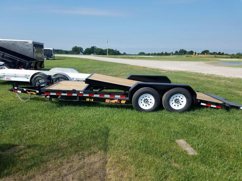 2017 Doolittle Trailer Mfg 14k EZ Loader GT 20ft Tilt Bed Equipment Trailer