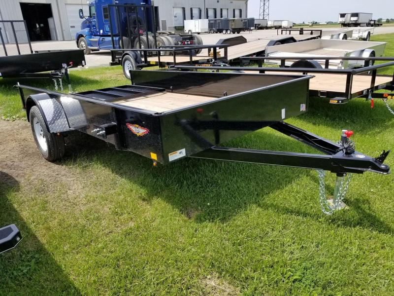 2018 H and H Trailer 82x12 Solid Side Utility Trailer