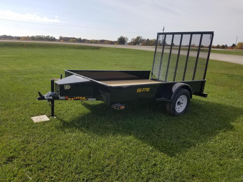 2017 Doolittle Trailer Mfg SS 77x10 Utility Trailer