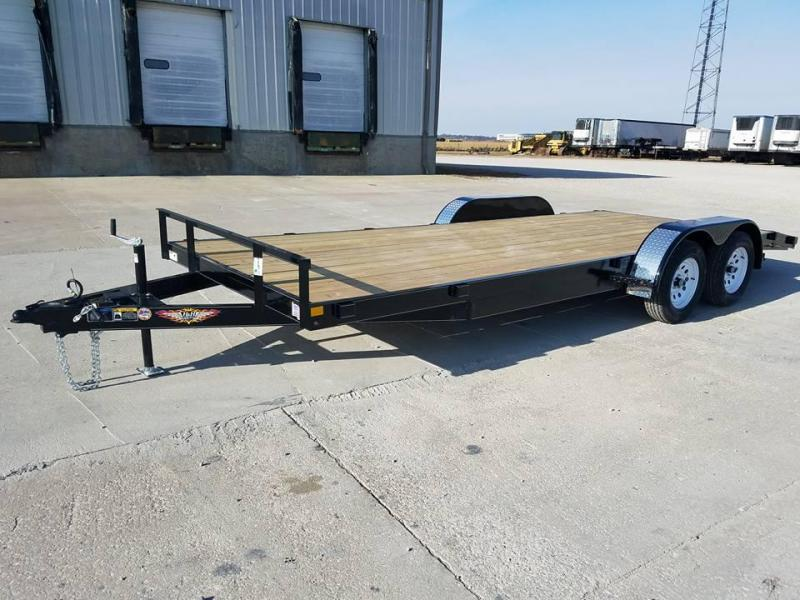 2018 H and H Trailer 82x20 Car / Racing Trailer